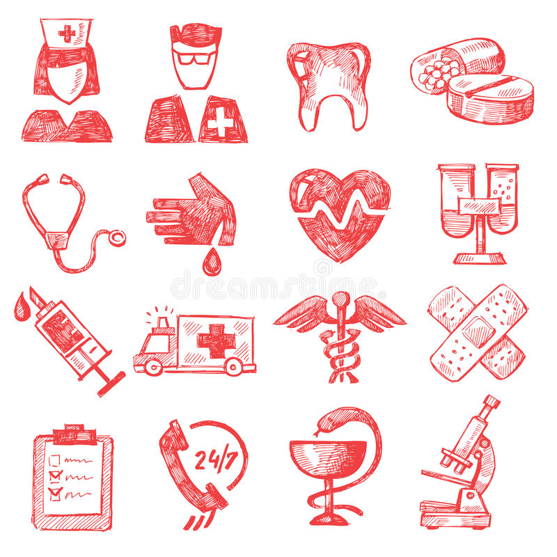 Download Hand draw medical editorial stock photo. Image of health - 31410928