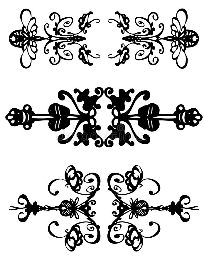 Hand draw symbols vector illustration