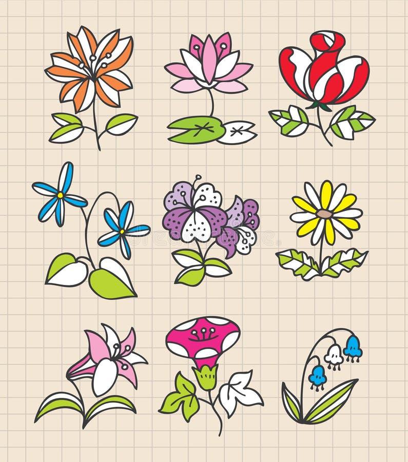 Hand Draw Web Icon Stock Image