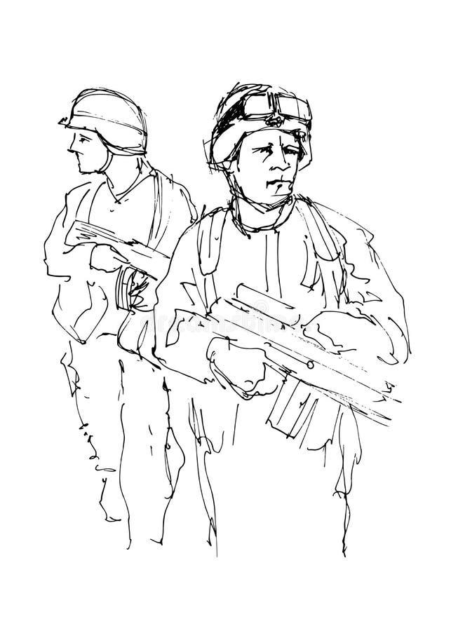 картинки солдата для схем осторожно
