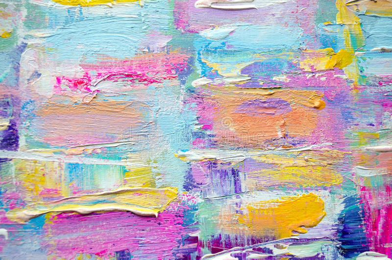 canvas color hand drawn acrylic painting abstract art background acrylic