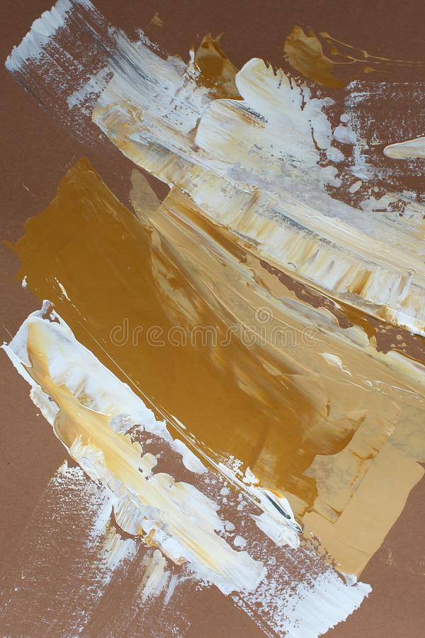 Hand drawn acrylic painting. Abstract art background. Acrylic painting on canvas. Color texture. Fragment of artwork. Brushstrokes. Hand drawn acrylic painting royalty free stock image