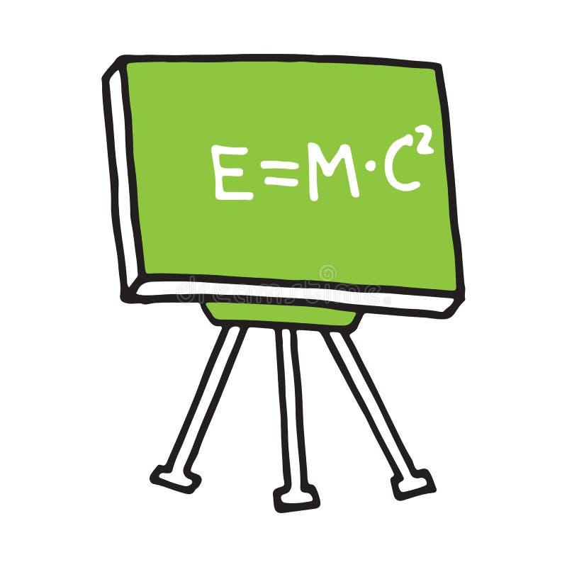 Hand drawn blackboard. Sketch Back to school, icon. Decoration element. Vector illustration vector illustration