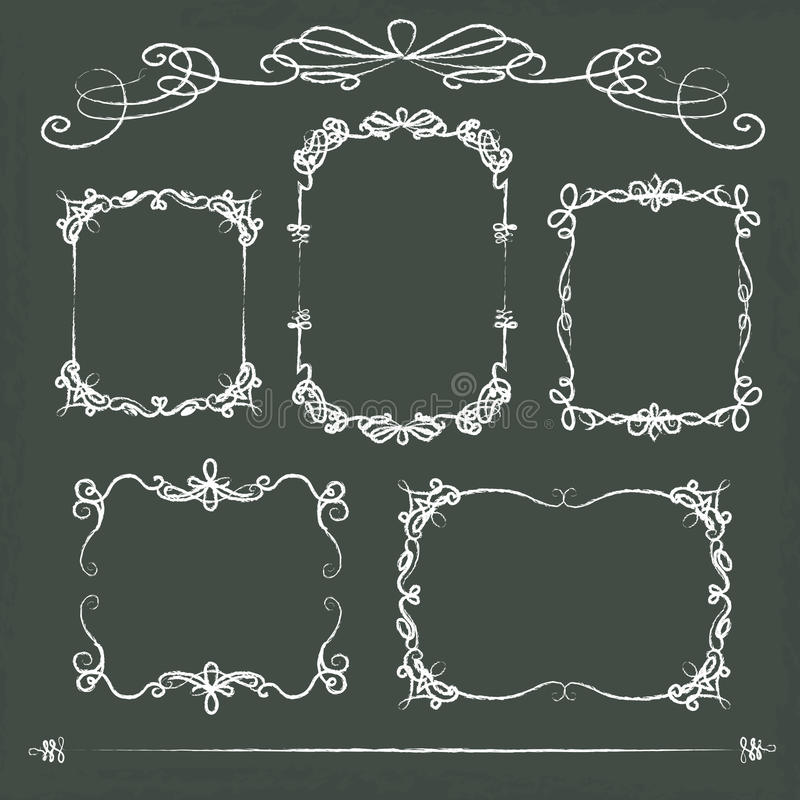 Download Hand Drawn Cardboard Frames Stock Vector - Illustration of accessories, event: 87325240