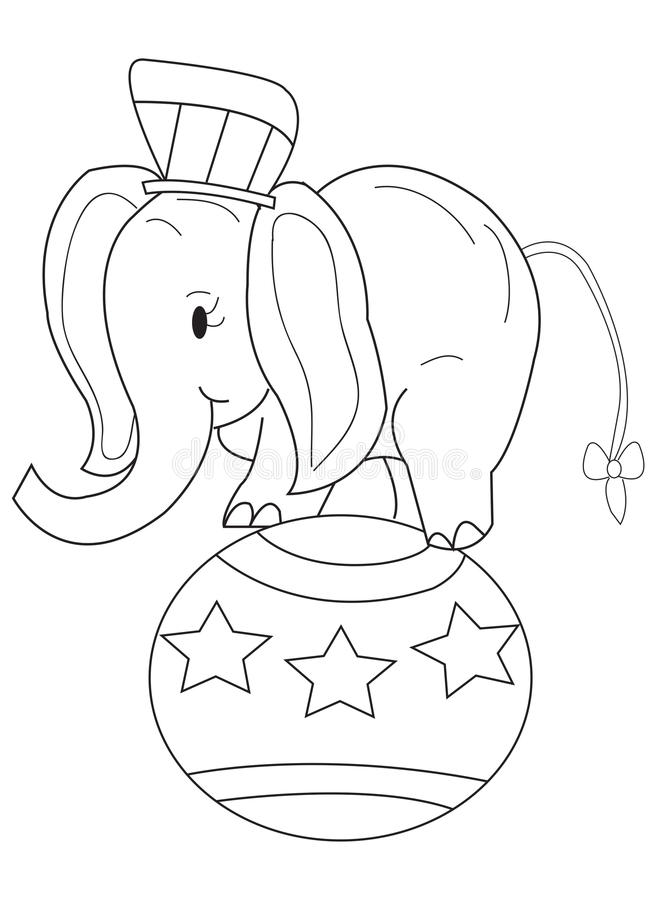 Cartoon Elephant Coloring Pages Miakenasnet