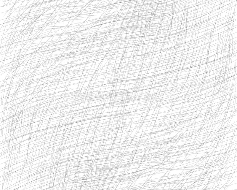 Hand drawn cross-hatching with a pencil. Oblique grey fine lines, scribble, Doodle, daub. Vector overlay. Isolated background. Hand drawn cross-hatching with a vector illustration
