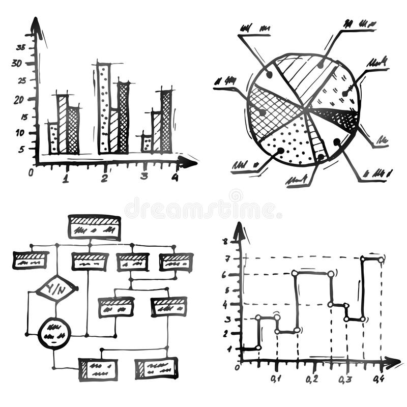 Hand drawn different types of infographics stock vector download hand drawn different types of infographics stock vector illustration of line structure ccuart Choice Image