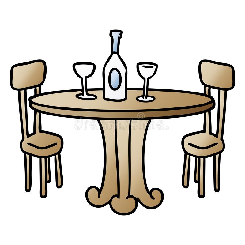 Wondrous Cartoon Dining Table Food Drinks Wine Eating Out Free Hand Download Free Architecture Designs Scobabritishbridgeorg