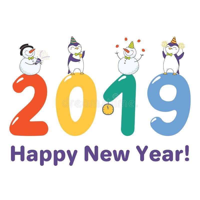 Cute new year card banner stock vector illustration of juggling download cute new year card banner stock vector illustration of juggling 111003811 m4hsunfo