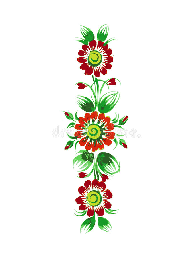 Download Ornament stock vector. Illustration of white, background - 29899343
