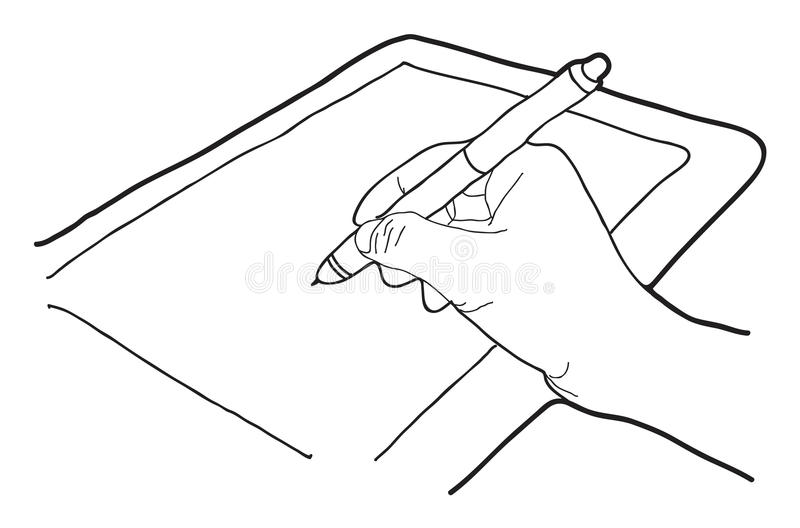 Download Hand stock vector. Image of sketch, hand, drawn, drawing - 31115257