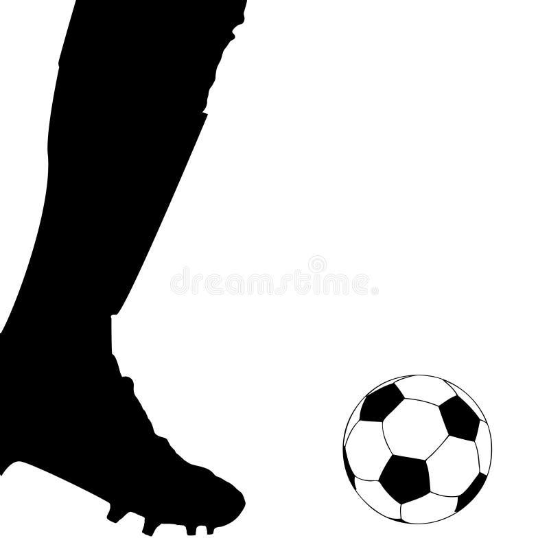 Hand drawn ink frame with football balls circle vector illustration