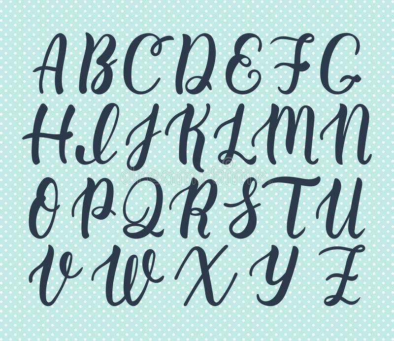 Capital Letters Calligraphy And Alphabets T