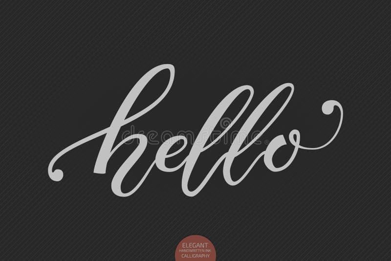 Hello november modern calligraphy studio waterstone flickr