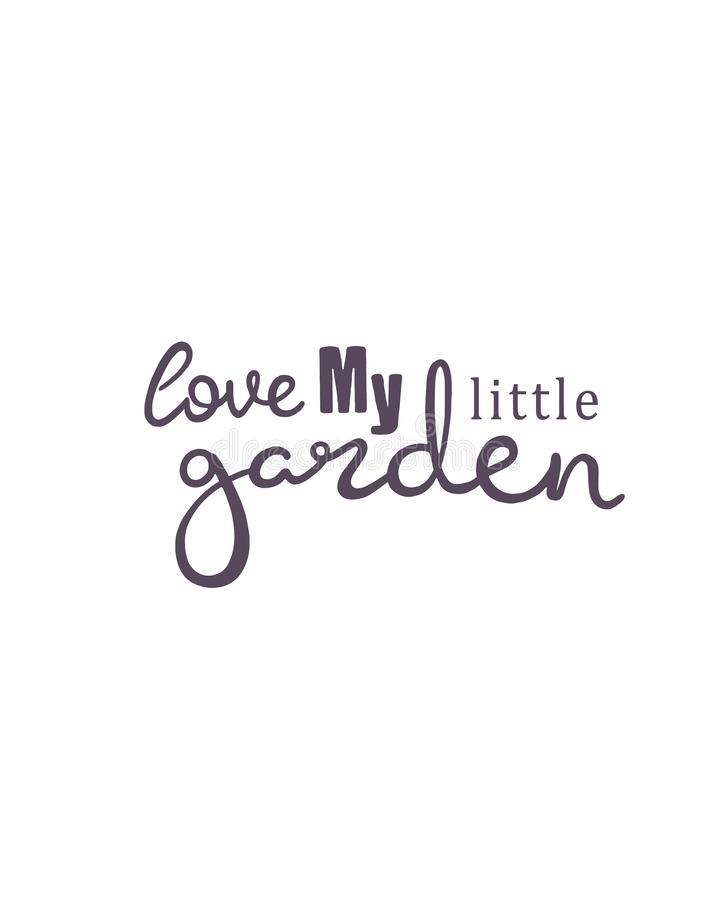 Hand Drawn Lettering Home Garden Sticker Perfect Design For Greeting Cards Posters T Shirts Banners Print Invitations Stock Illustration Illustration Of Cursive Cute 150933865