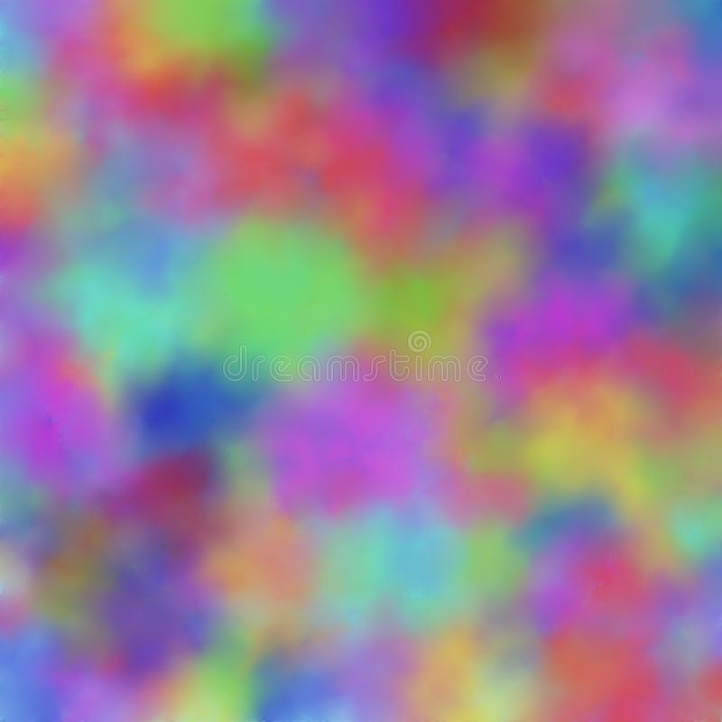 Hand drawn multicolor blurred background with pastel colors, abstract raster illustration vector illustration