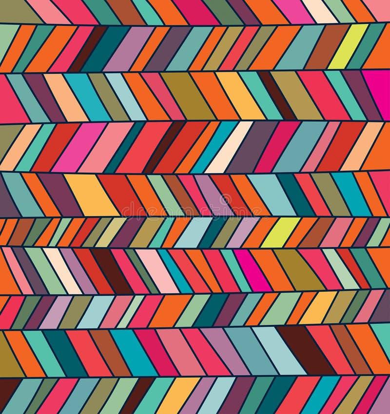 Hand drawn multicolored background, vector design stock illustration