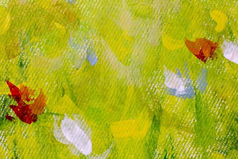 Hand drawn oil painting art background. Oil painting on canvas. Color texture. Fragment of artwork. Spots of paint. Hand drawn oil painting. Abstract art royalty free stock photos