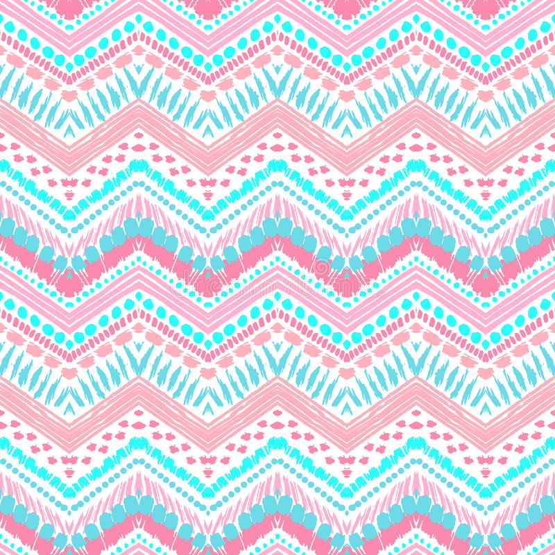 Free Hand Drawn Painted Seamless Pattern. Vector Stock Photography - 56187772