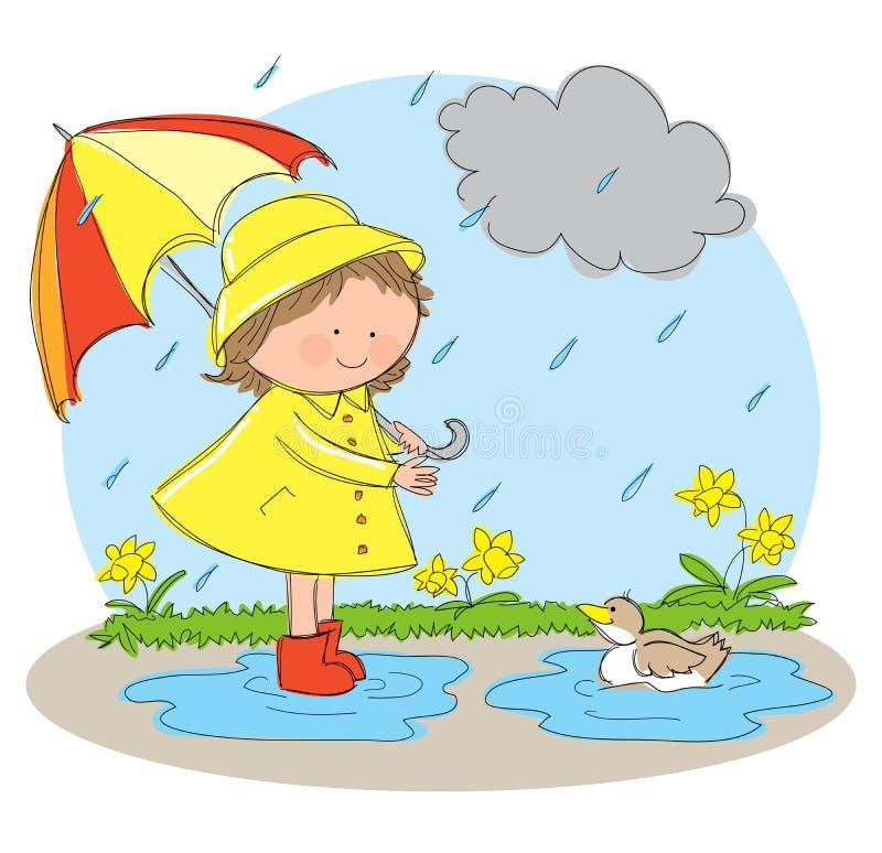 Spring Season stock illustration