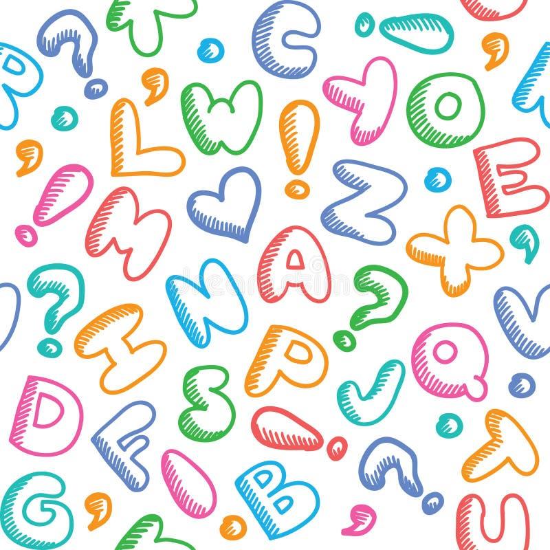 Download Alphabet pattern stock vector. Illustration of background - 30065301