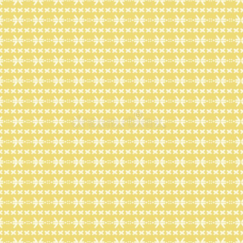 Download Mud Cloth Yellow Seamless Pattern Stock Illustration - Illustration of background, hand: 112333038