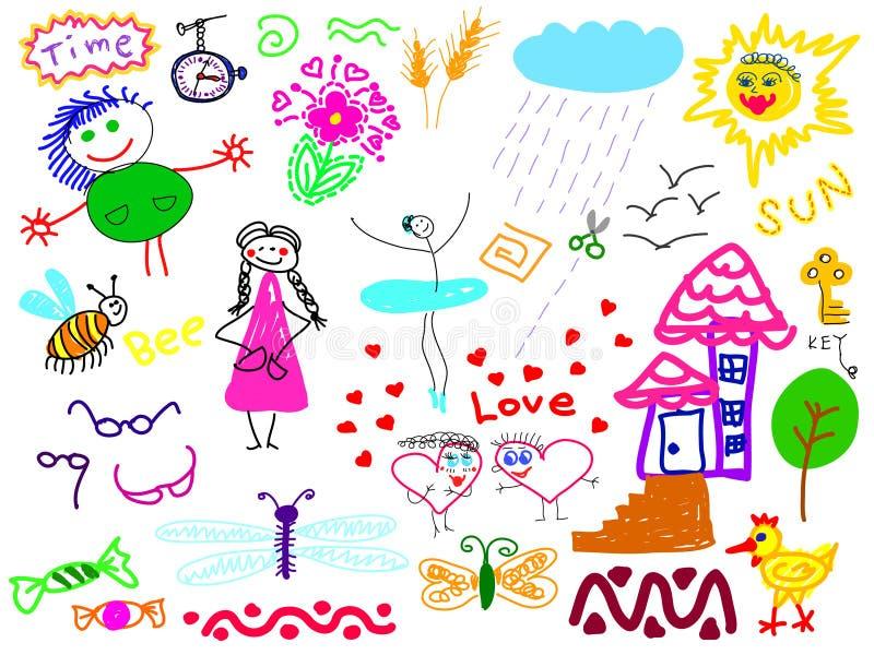 Hand drawn royalty free illustration