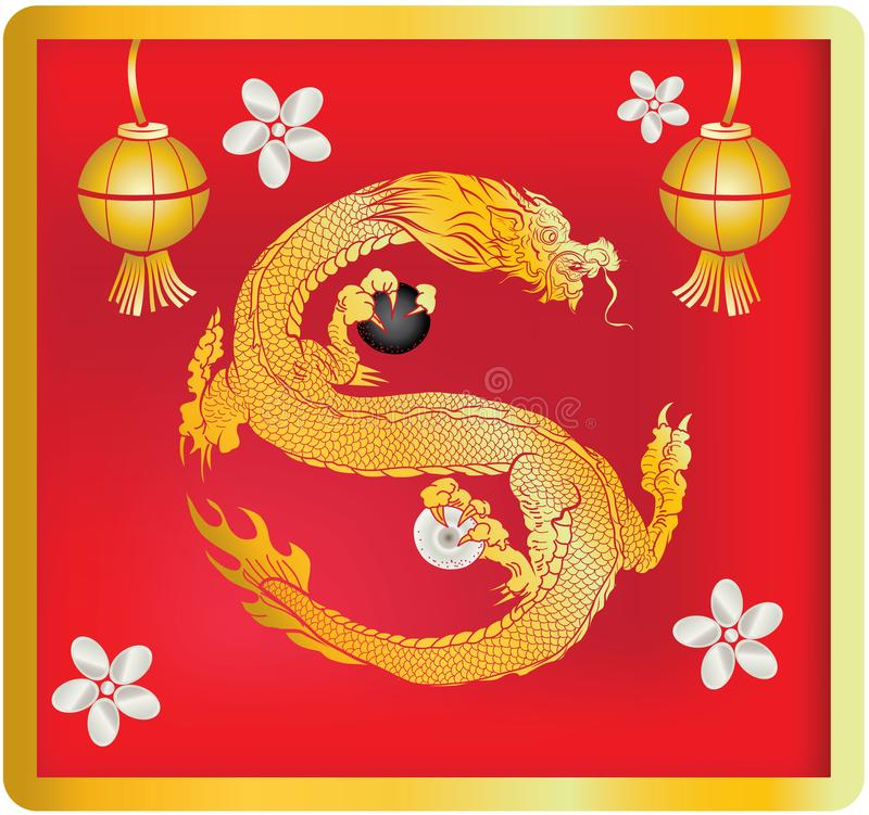 Red Dragon Is Magical Creatures Known In Chinese And Western