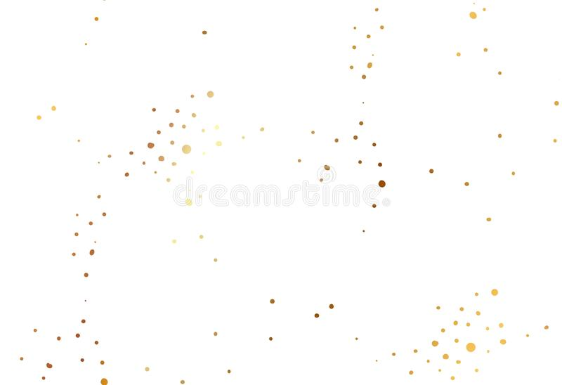 Hand drawn simple scandinavian Gold glitter texture decoration, festive Christmas and New year seamless pattern isolated royalty free illustration