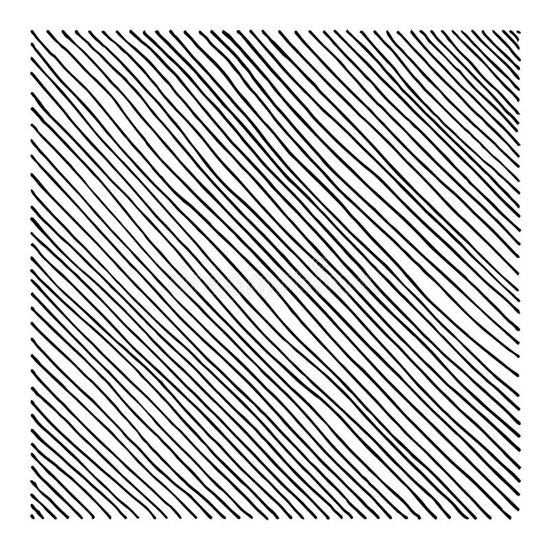 Hand Drawn Straight Black Diagonal Lines. Hand Drawn Straight Black Diagonal Linework vector illustration