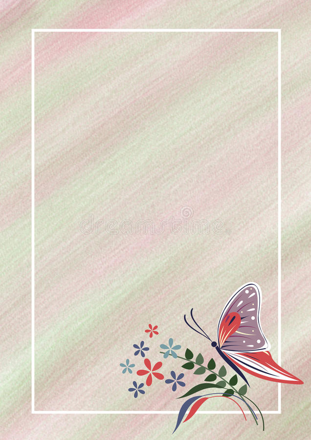 Hand drawn textured floral background pastel card with butterfly download hand drawn textured floral background pastel card with butterflyflowerstemplate for spiritdancerdesigns Images