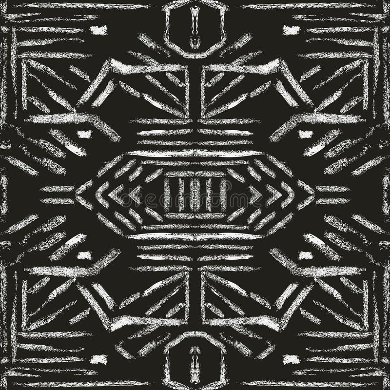 Brush texture pattern stock illustration