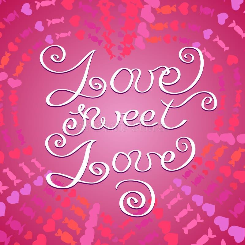 Hand drawn typography card valentine love card stock vector download hand drawn typography card valentine love card stock vector illustration of poster m4hsunfo