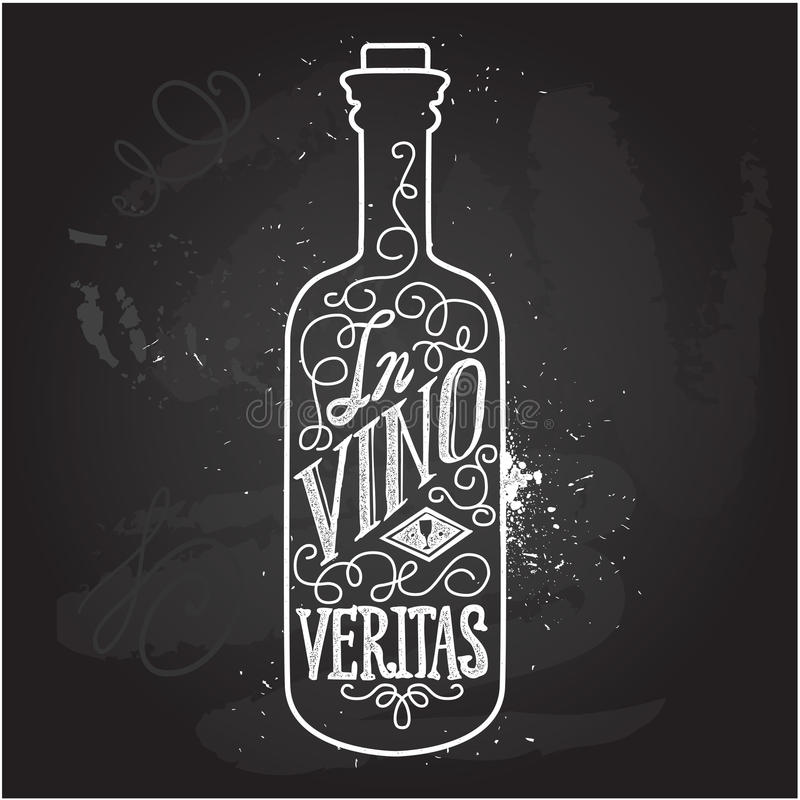 Hand drawn typography poster. vector illustration