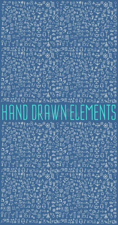 Hand drawn vector illustration stock illustration