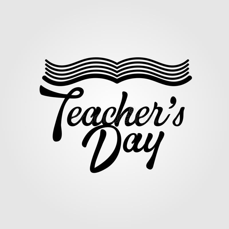 Hand Drawn Vector Illustration for Teachers day .Design Elements vector illustration