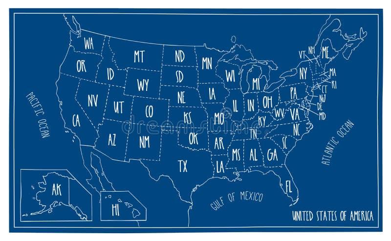 Doodle blueprint map of north america stock vector illustration of download doodle blueprint map of north america stock vector illustration of kansas arizona malvernweather Choice Image