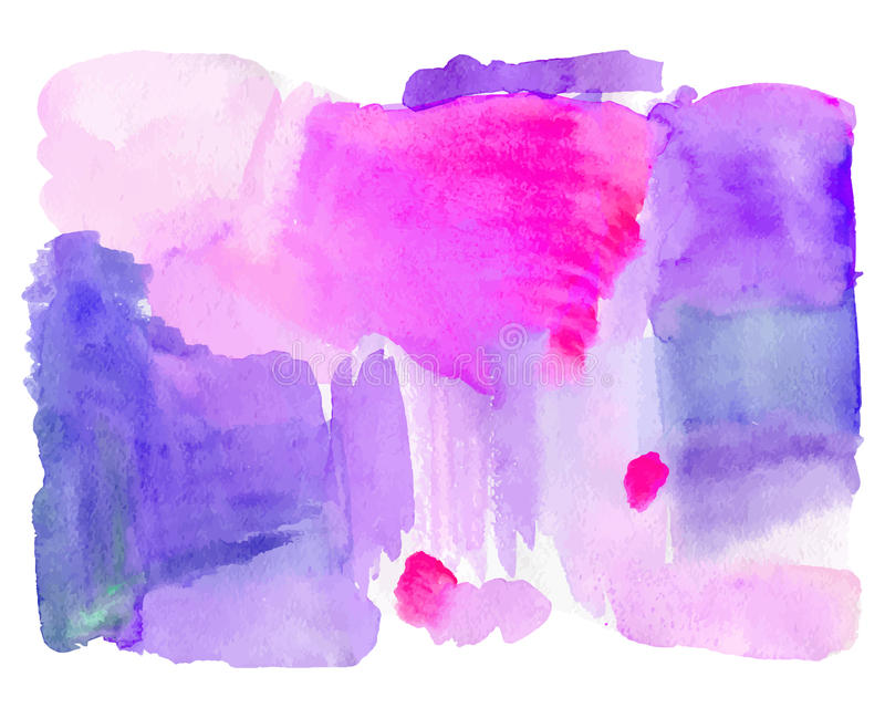 Hand drawn Watercolor Pink background royalty free stock photos