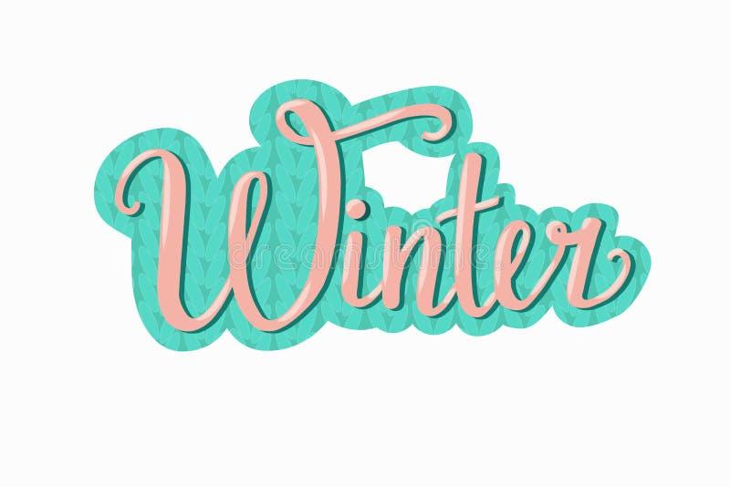 Hand drawn Winter vector illustration stock illustration