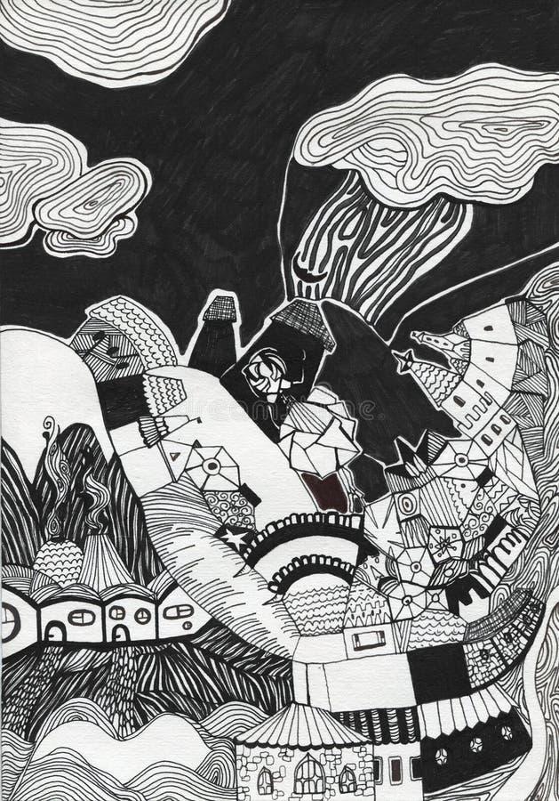 Download Hand Drawn Wonderful Kingdom Stock Illustration - Image: 22023133