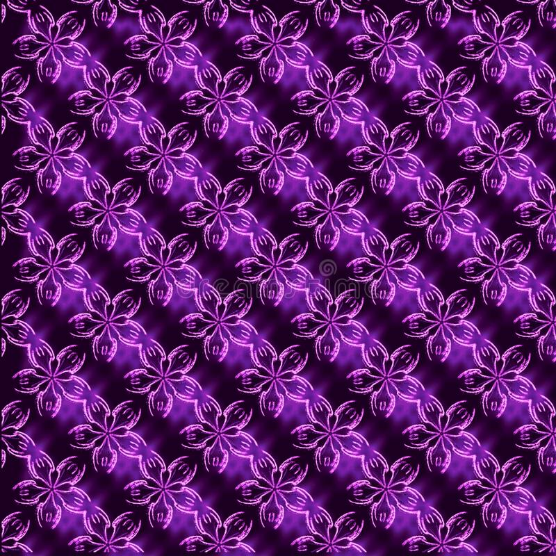pink and purple floral pattern stock photography