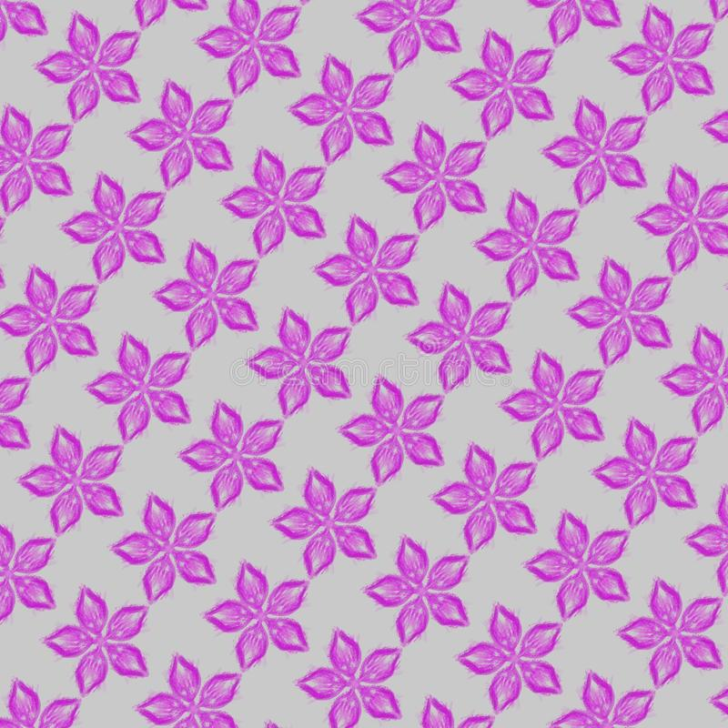 pink flowers pattern royalty free stock photography