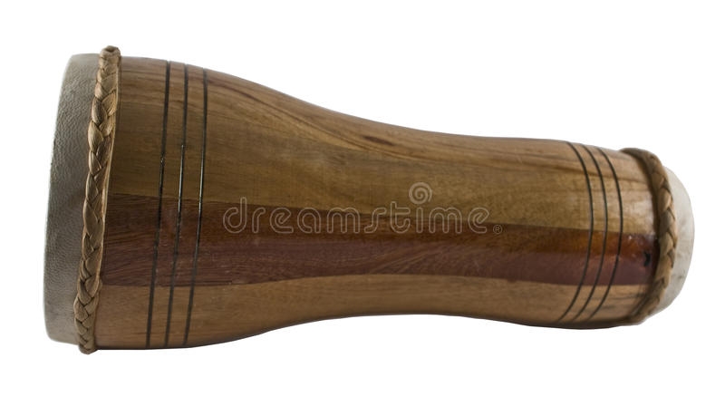 Hand Drum. Percussion instrument from Cuba royalty free stock image