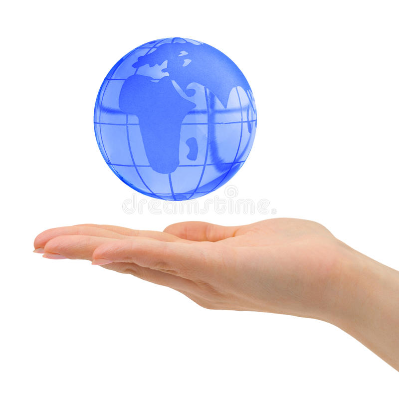 Download Hand and Earth stock photo. Image of hands, abstract, concepts - 9740206