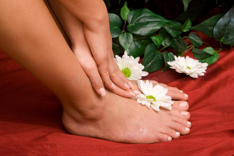 Download Hand And Feet Care Royalty Free Stock Photos - Image: 18550428