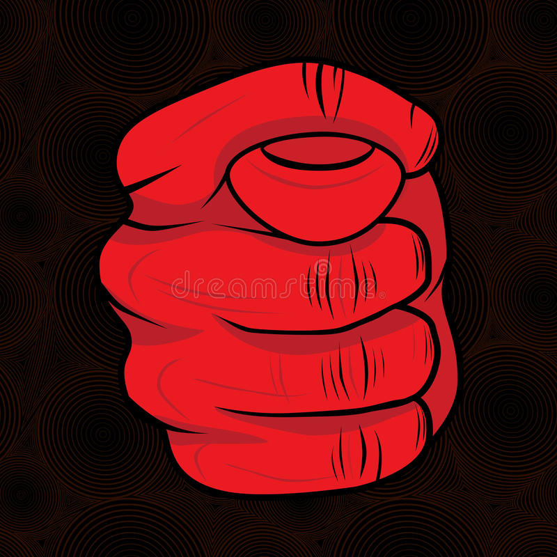 Download Hand fig sign stock vector. Illustration of hand, finger - 32408712