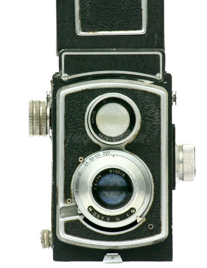 Hand fotocamera stock fotografie