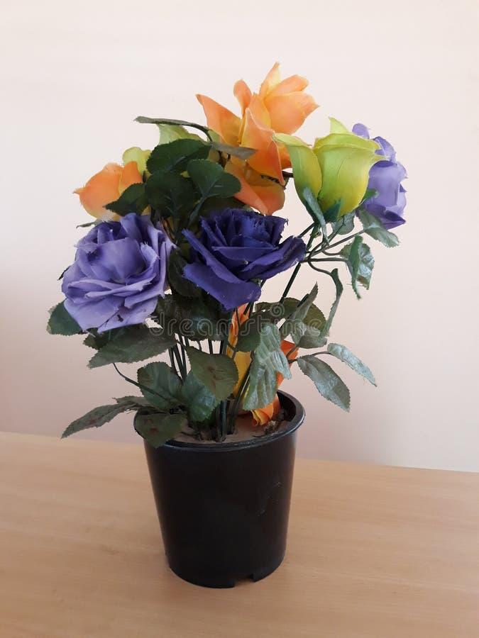 Hand - gemaakt bloemboeket royalty-vrije stock foto's