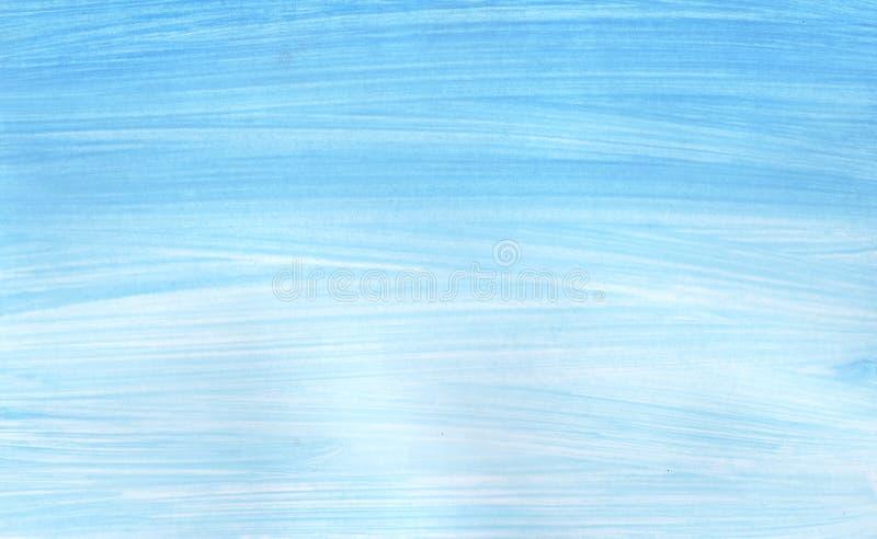 Hand geschilderde achtergrond stock illustratie