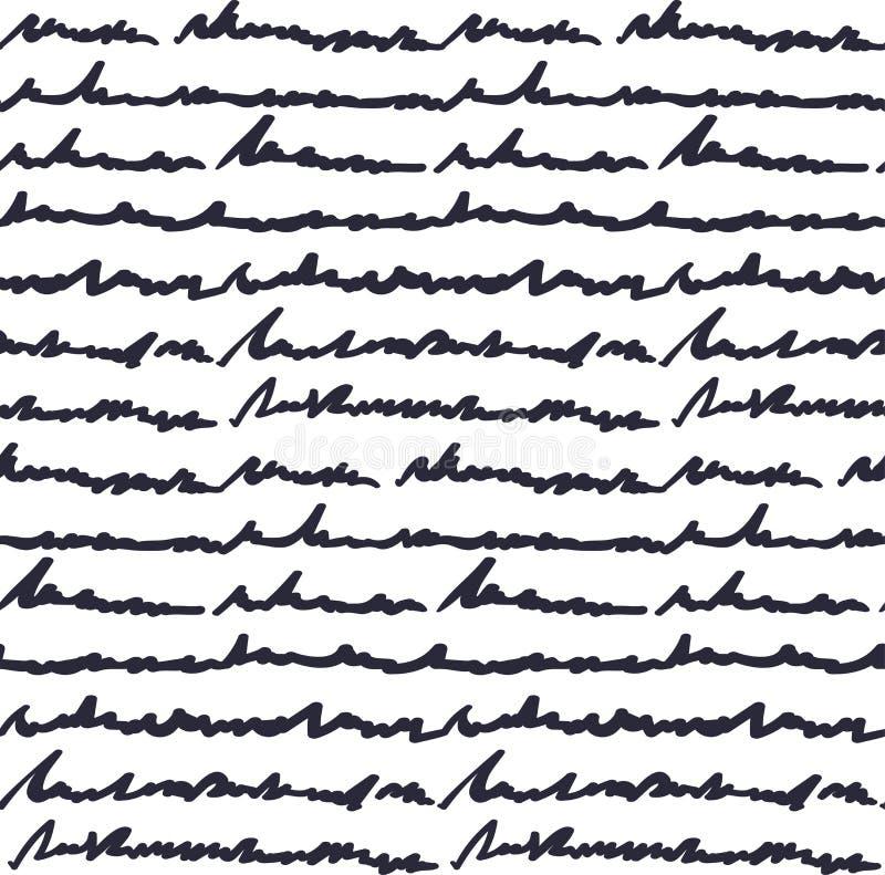 Hand geschreven tekstpatroon royalty-vrije stock foto